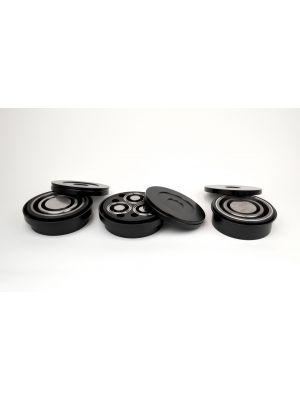 GyralGrinder® Puck and Ring Grinding Vessels