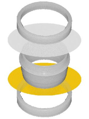 SERIES 1500: Double Open-Ended Sample Cups