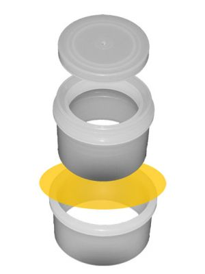 SERIES 2100: Double Open-Ended SpectroCup® Sample Cups