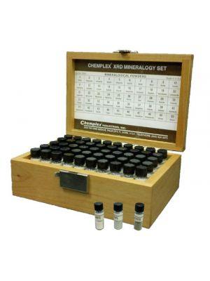 3000-1: XRD Mineralogy Set; 50 different minerals